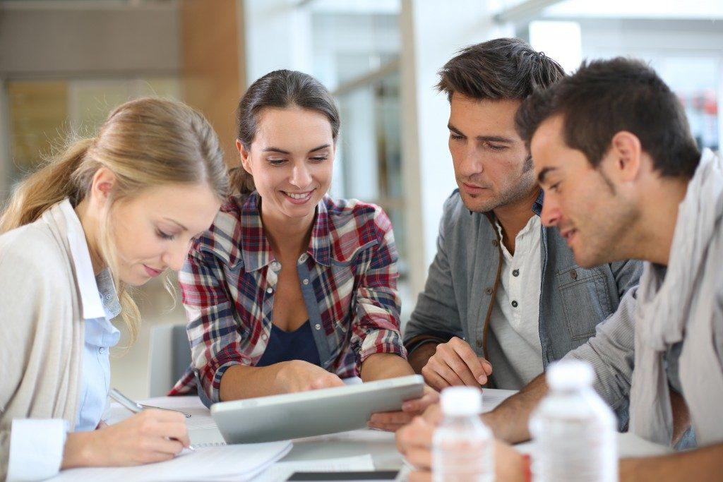 Digital marketing team planning a strategy