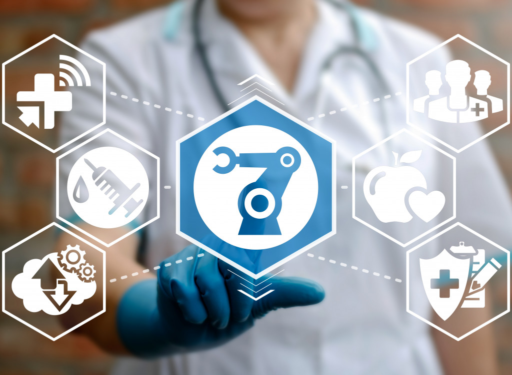 virtual icon of medical devices